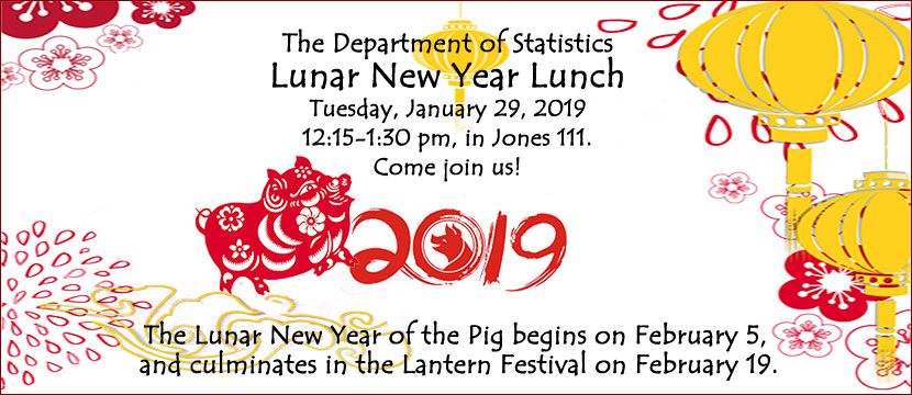 Department of Statistics Lunar New Year Lunch