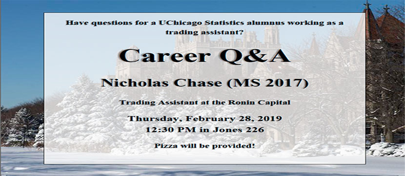 Nicholas Chase career event