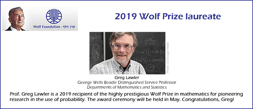 2019 Wolf Prize